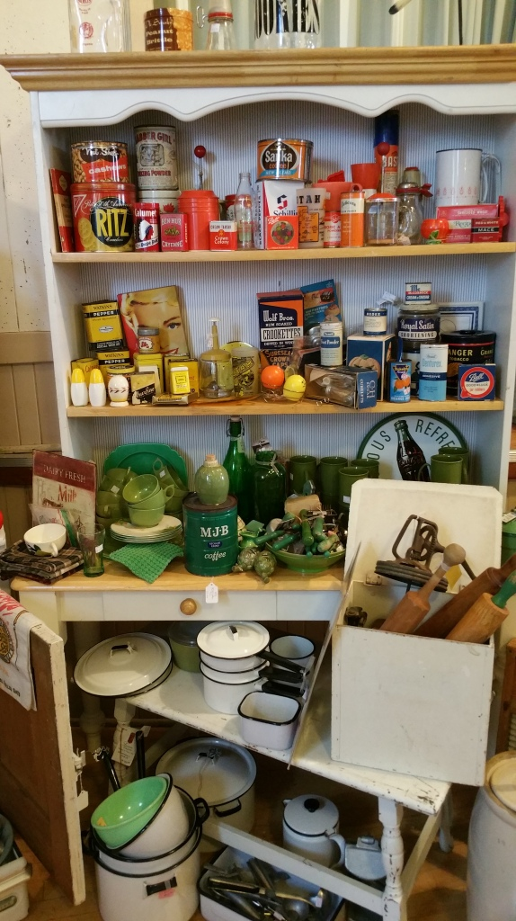 Vintage kitchen display
